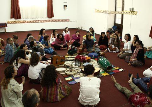 1er Campamento de Danzas de Paz Universal<br/>Chile 2015