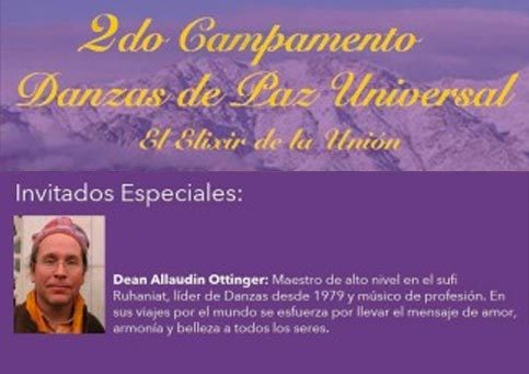 2do Campamento de Danzas de Paz Universal<br/>Chile 2016