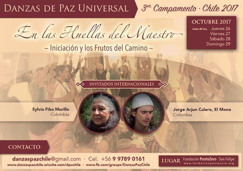 3er Campamento de Danzas de Paz Universal<br/>Chile 2017